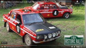 two red Datsun 1600s